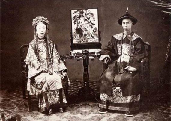ظاهر چینی ها در یک قرن گذشته