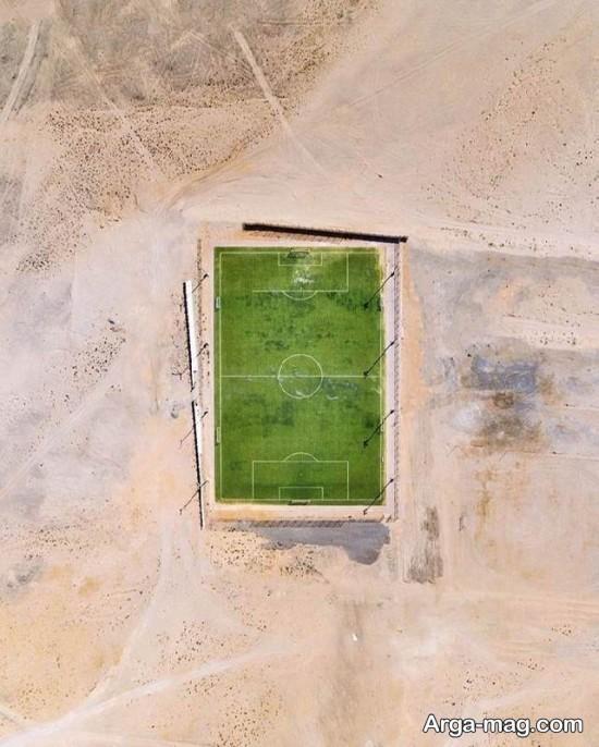 کشور عربی دبی از نمای بالا