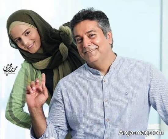 حمید رضا پگاه و همسرش