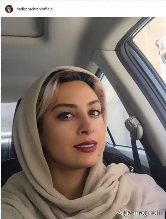 سلفی لاکچری حدیثه تهرانی