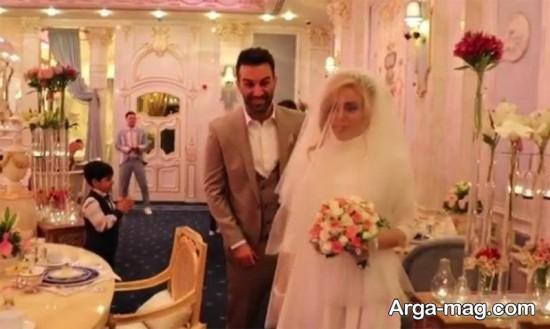 حنیف عمران زاده و همسرش