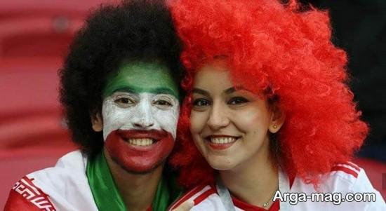 تماشاچیان ایرانی در روسیه