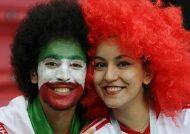 تصاویر ایرانی ها در ورزشگاه روسیه