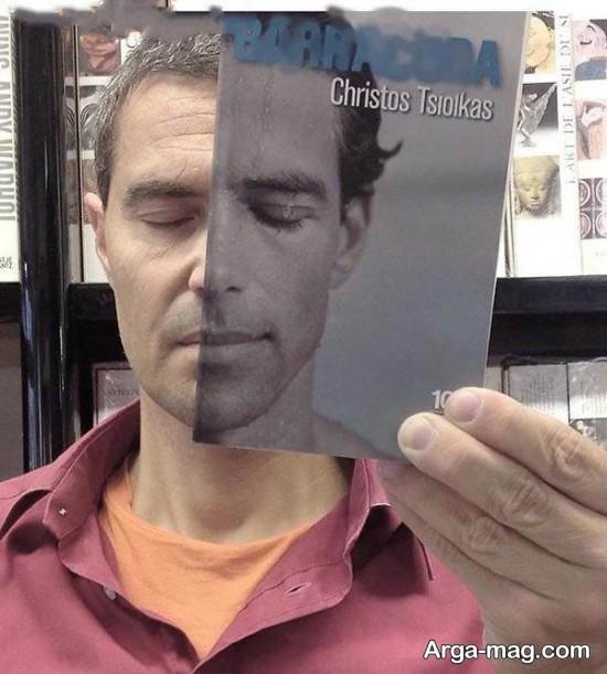 عکاسی با جلد کتاب