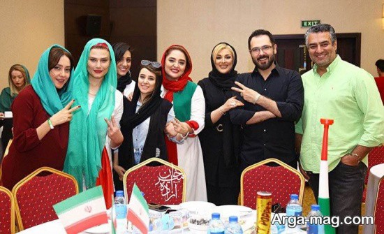 لادن مستوفی در تهران