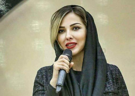 ماشین سواری لیلا اوتادی با الهام حمیدی
