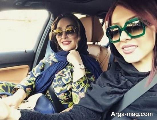 الهام حمیدی و لیلا اوتادی