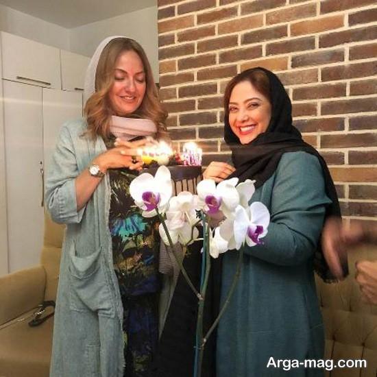 مهناز افشار در سالن زیبایی