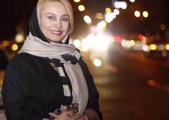 حضور مریم کاویانی در مراسم افطاری هنرمندان