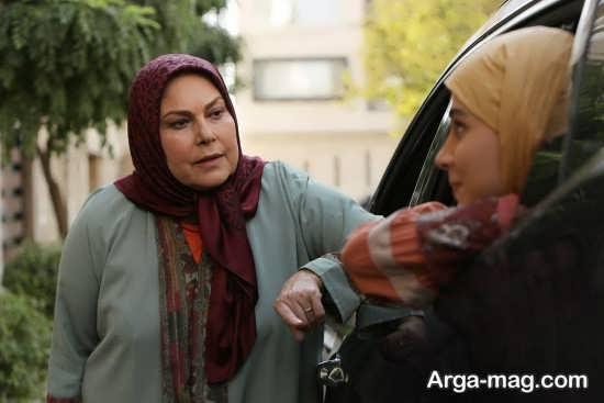 مهرانه مهین ترابی بازیگر موفق سریال آنام