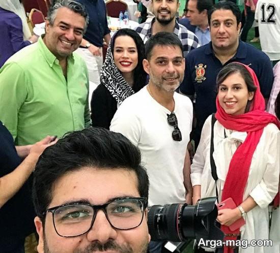 ملیکا شریفی نیا و بازیگران