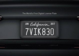 پلاک های دیجیتالی خودرو