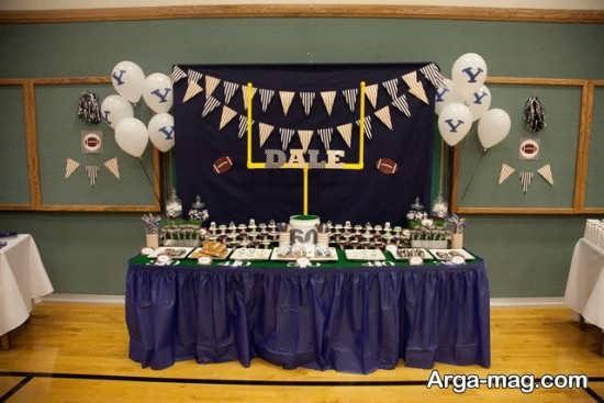 تزیین میز تولد با تم جذاب