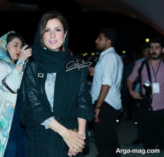 سارا بهرامی در اکران فیلم ناخواسته