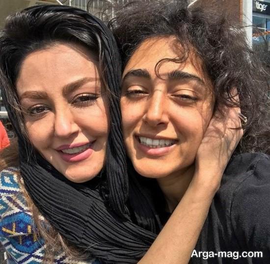 شقایق فراهانی و خواهرش