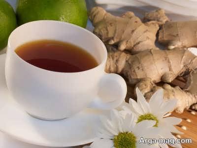 چای زنجبیل برای شانه درد