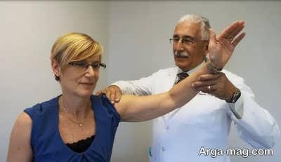 تمرینات کششی برای درمان شانه درد