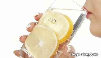 میکس آب معدنی گازدار و لیمو