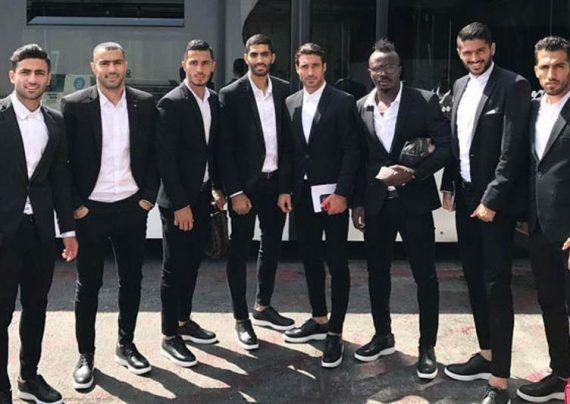 تیپ بازیکنان تیم ملی فوتبال توجه دختران خارجی را به خود جلب کردند