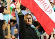حضور رسمی بانوان در ورزشگاه آزادی تهران