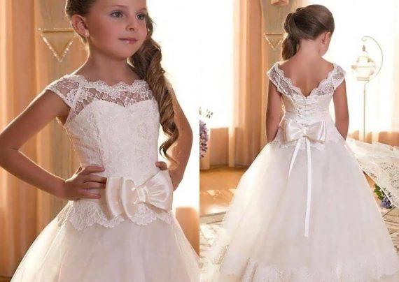 مدل لباس عروس برای دختر بچه ها