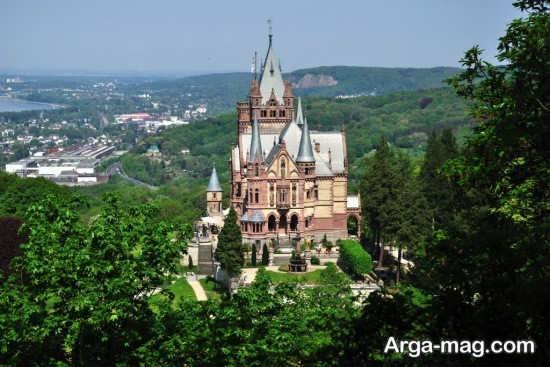 طبیعت سرسبز آلمان