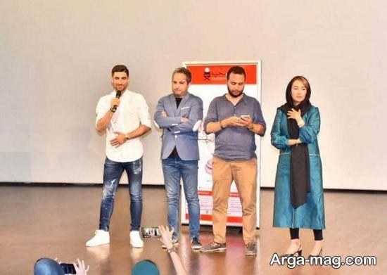 علیرضا جهانبخش در مراسم اکران مستند «سریک»