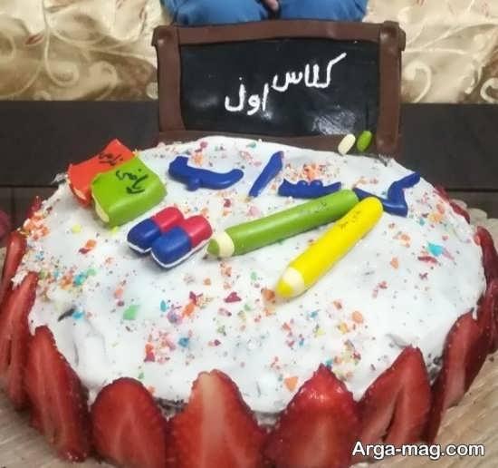 تزیینات دیدنی کیک جشن الفبا