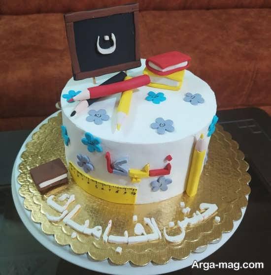 تزیینات قشنگ کیک جشن الفبا