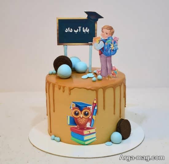 تزیینات بی نظیر کیک جشن الفبا