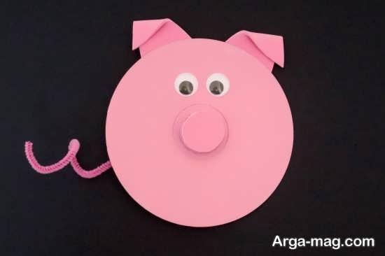 کاردستی حیوانات با سی دی