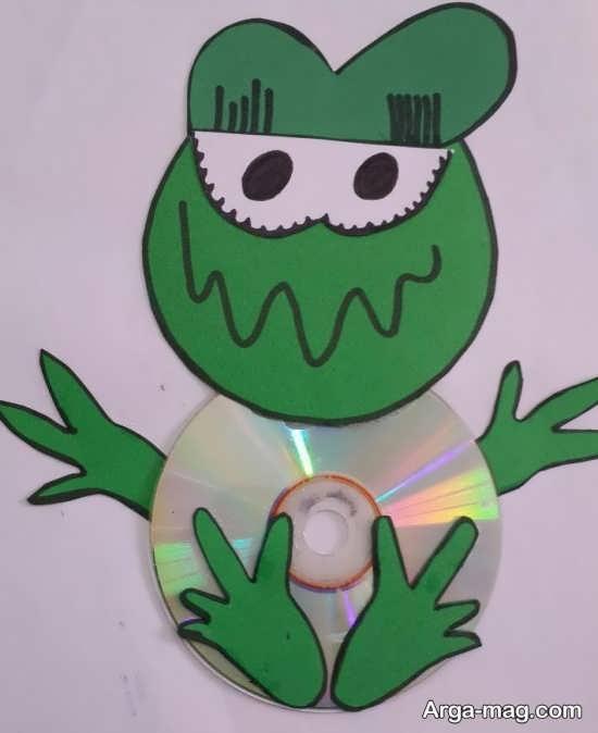 انواع کاردستی با سی دی