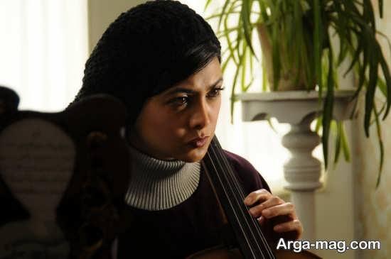 آزاده صمدی بازیگر نقش مهناز در سریال نوروزی سامان مقدم