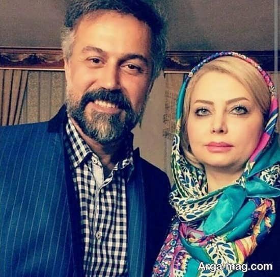 بیوگرافی و عکس های دو نفره دانیال حکیمی و همسرش