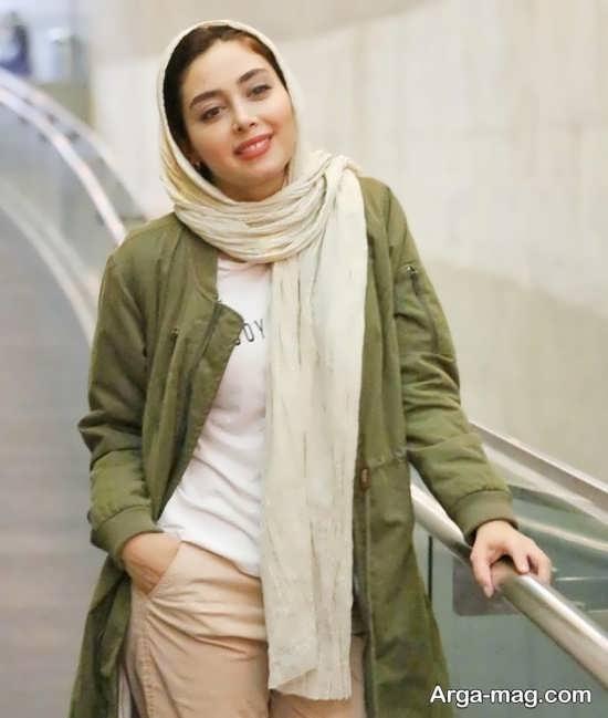 دیبا زاهدی بازیگر جوان سینما