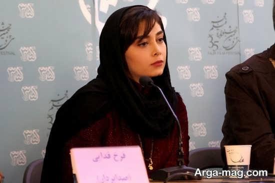 دیبا زاهدی در نشست خبری جشنواره فیلم فجر