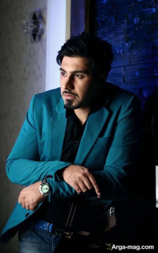 احسان خواجه امیری خواننده جوان