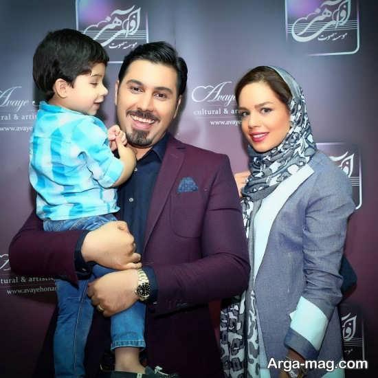 عکس های خانوادگی و جالب احسان خواجه امیری