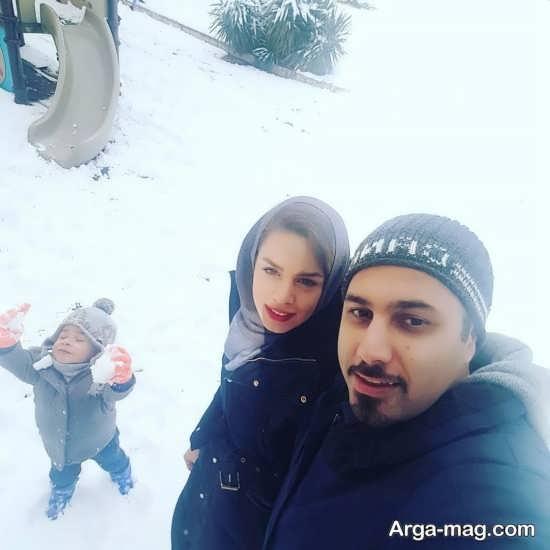 عکس های خانوادگی احسان خواجه امیری