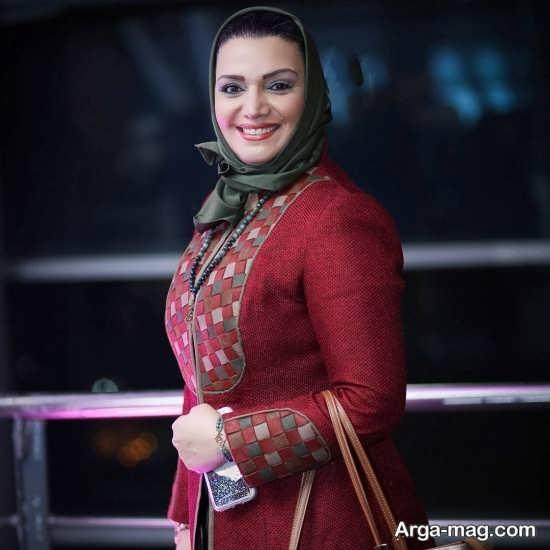 الهام پاوه نژاد بازیگر سریال هست و نیست
