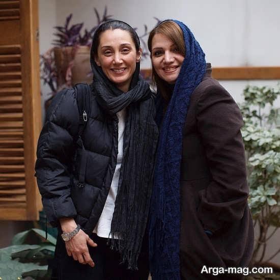 عکس دو نفره هدیه تهرانی و الهام پاوه نژاد