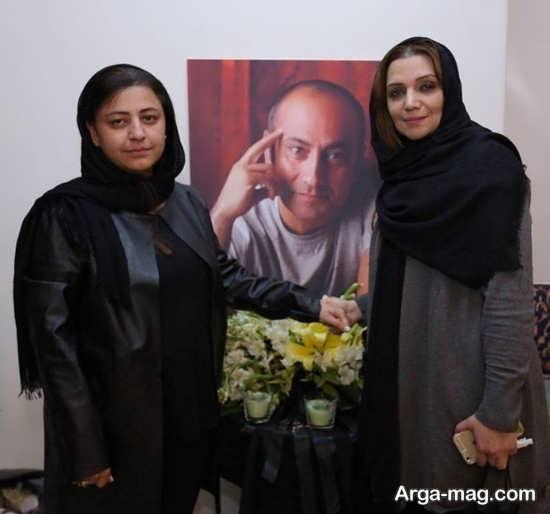 الهام پاوه نژاد در خانه مرحوم عارف لرستانی