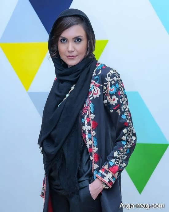 سامیه لک بازیگر خوش چهره تلویزیون