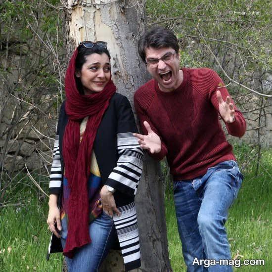 عکس شهرام حقیقت دوست و ساره بیات در فیلم سینمایی