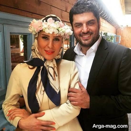 بیوگرافی و عکسهای سام درخشانی و همسرش
