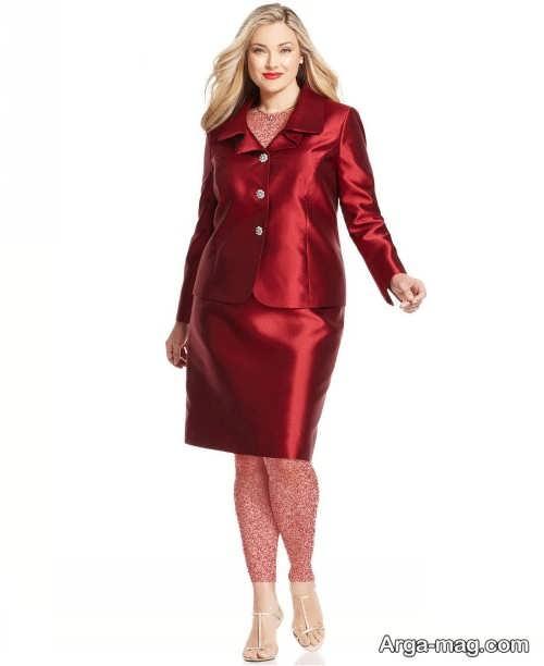 مدل کت دامن برای مادر عروس