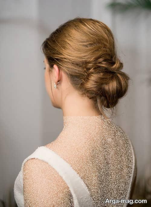 شینیون موی زیبا