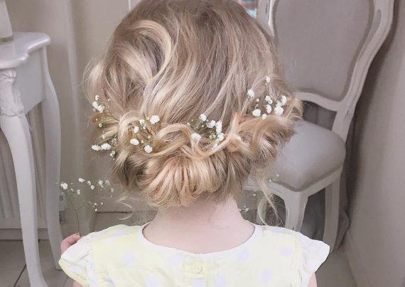 مدل موی بچه گانه برای عروسی