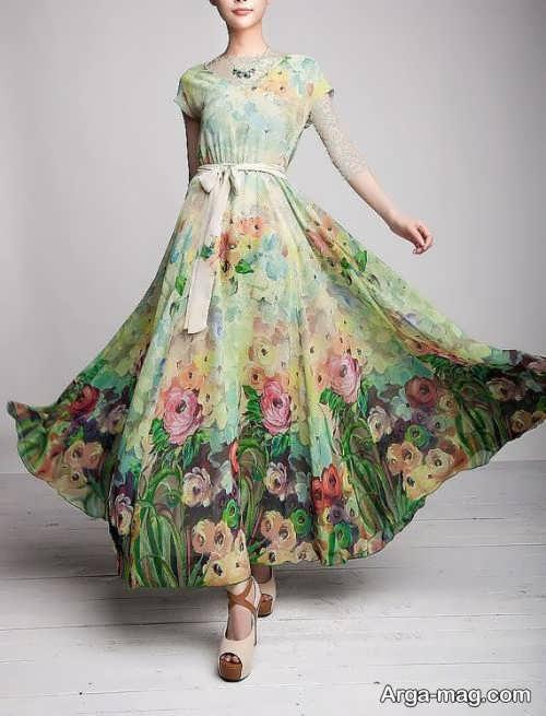 لباس مجلسی حریر دخترانه