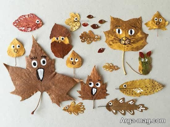 کاردستی مناسب پاییز